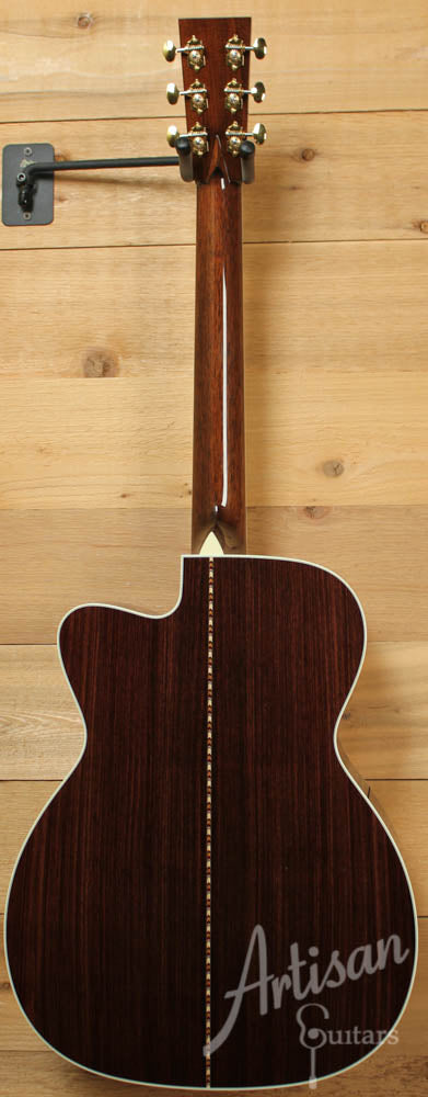 Collings OM3A Cutaway Adirondack and Indian Rosewood with Adirondack Braces ID-8819 - Artisan Guitars