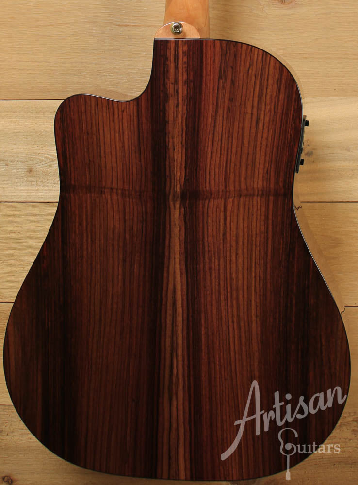 Maton TE1 Tommy Emmanuel Artist Sitka Spruce and Indian Rosewood Sunburst ID-9149 - Artisan Guitars