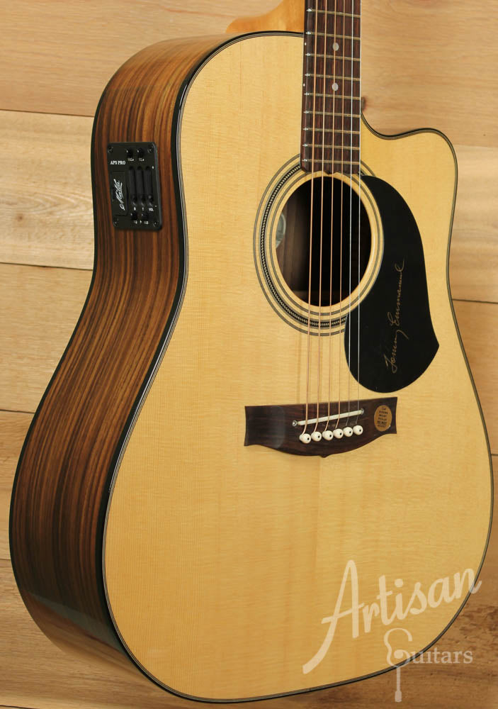 Maton TE1 Tommy Emmanuel Artist Sitka Spruce and Indian Rosewood ID-9152 - Artisan Guitars