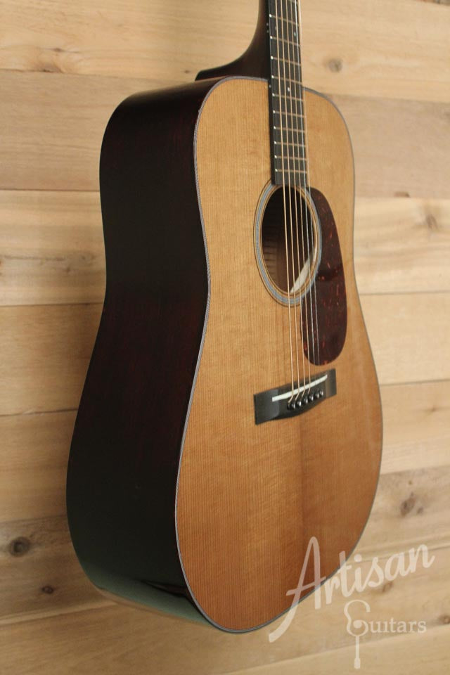 Huss and Dalton TDM Custom with Thermo-cured Red Spruce and Mahogany ID-9522