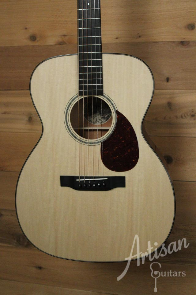 Collings OM1 Guitar SS Sitka Spruce and Mahogany Short Scale No Tongue Brace ID-9840 - Artisan Guitars