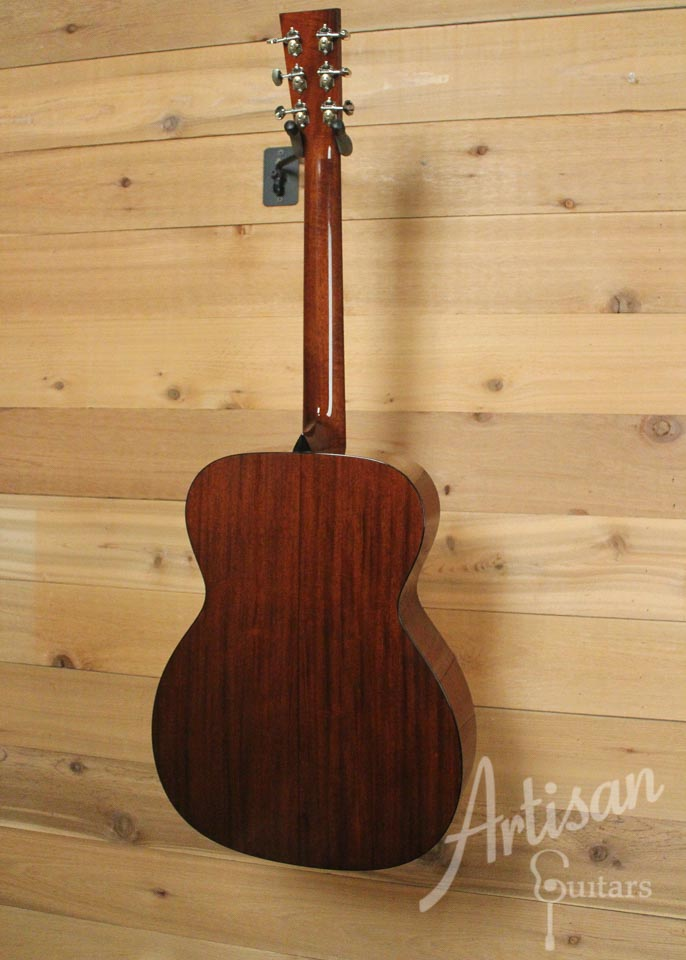 Collings OM1 Guitar SS Sitka Spruce and Mahogany Short Scale No Tongue Brace ID-9840