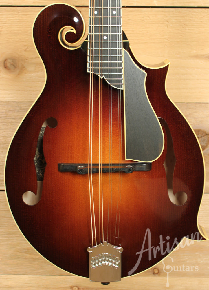 Collings MF5 V Mandolin F Style with Ivoroid Binding and Varnish Finish ID-8884 - Artisan Guitars
