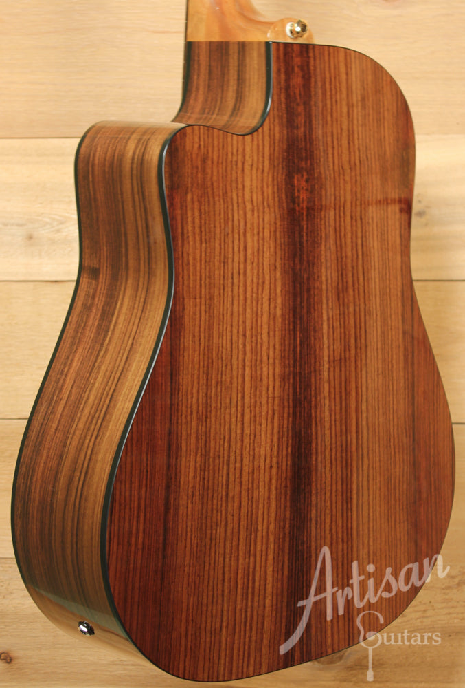 Maton TE1 Tommy Emmanuel Artist Sitka Spruce and Indian Rosewood ID-9176 - Artisan Guitars