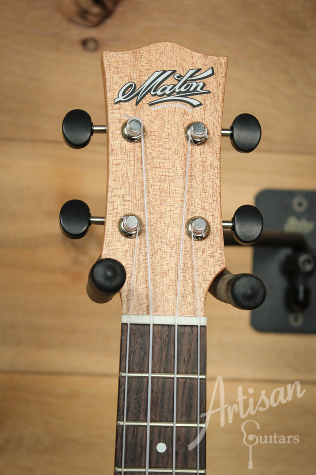 Maton Concert Ukulele Bunya Top, Back and Sides with B-Band pickup ID-9900 - Artisan Guitars