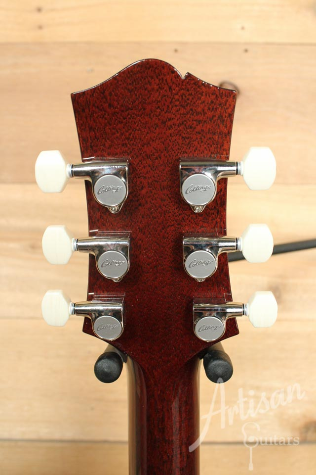 Collings SoCo Deluxe Guitar Rootbeer Quilt Top ID-9842 - Artisan Guitars