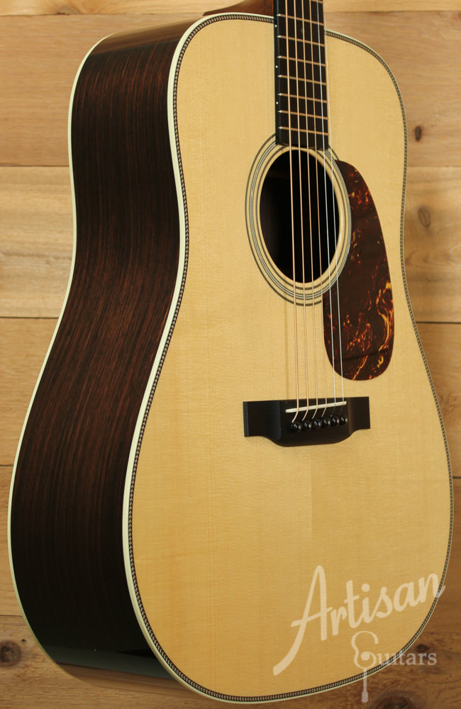 Pre Owned 2013 Collings D2H A VN Adirondack Spruce and Indian Rosewood with Vintage Now Neck ID-9183 - Artisan Guitars