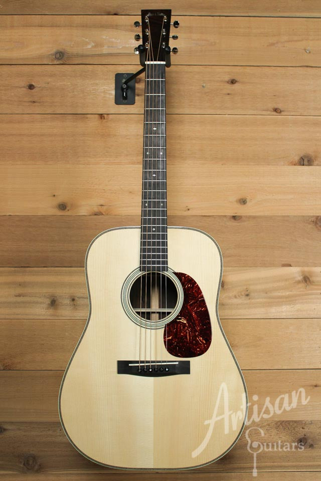 Pre-Owned 2009 Huss and Dalton TDR Custom Adirondack Spruce and Brazilian Rosewood  ID-9907 - Artisan Guitars
