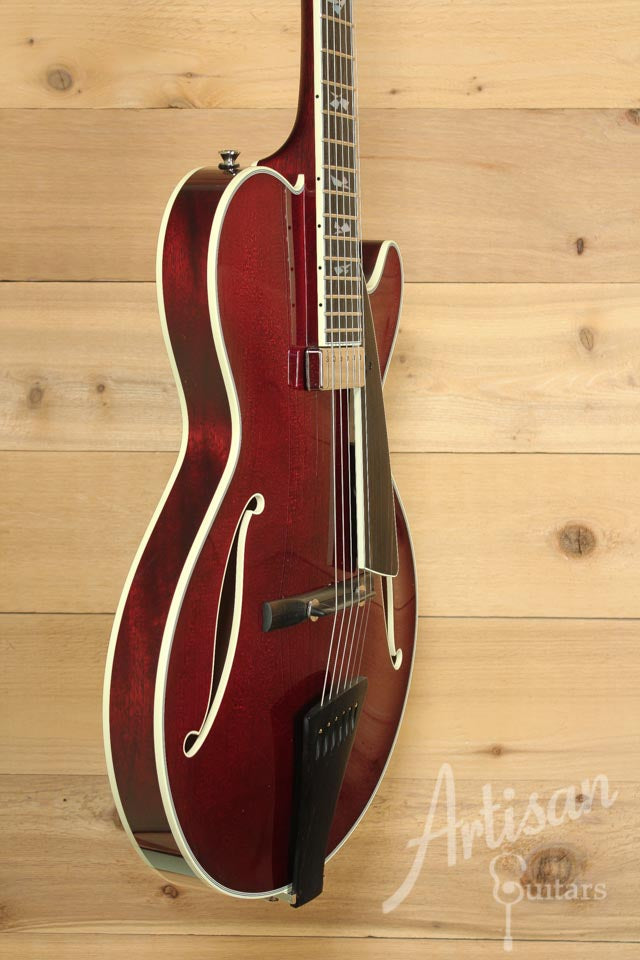 Collings CL Jazz Archtop Merlot Finish ID-9909 - Artisan Guitars
