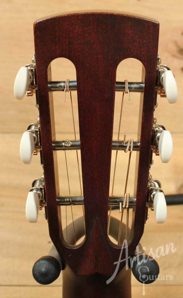 2014 Pre Owned Huss and Dalton 0 SP Custom Mahogany Parlor Guitar ID-9210