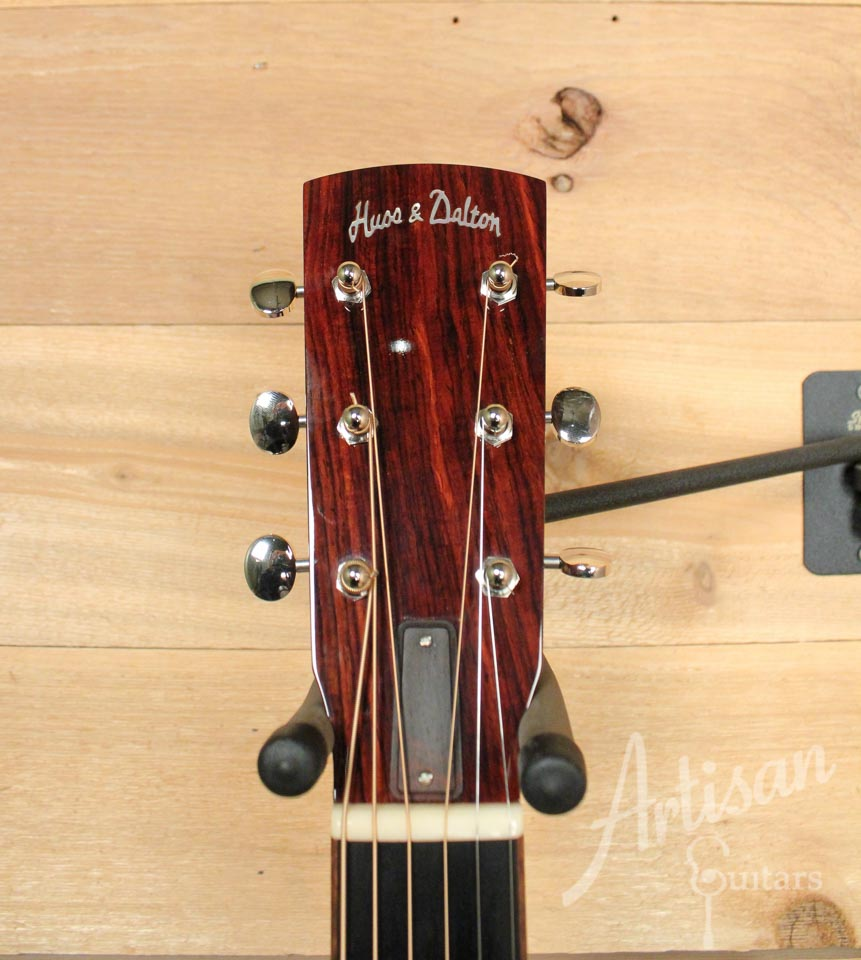 Pre-Owned 2012 Huss and Dalton 00 Custom Cocobolo Back and Sides ID-9916 - Artisan Guitars