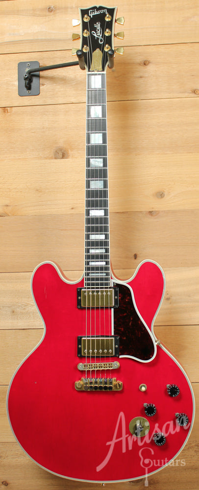 1996 Gibson BB King Lucille with Cherry Finish ID-9219 - Artisan Guitars