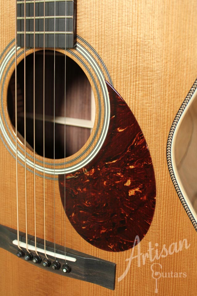 Huss and Dalton TOM-R Thermo-cured Red Spruce and Indian Rosewood ID-9606 - Artisan Guitars