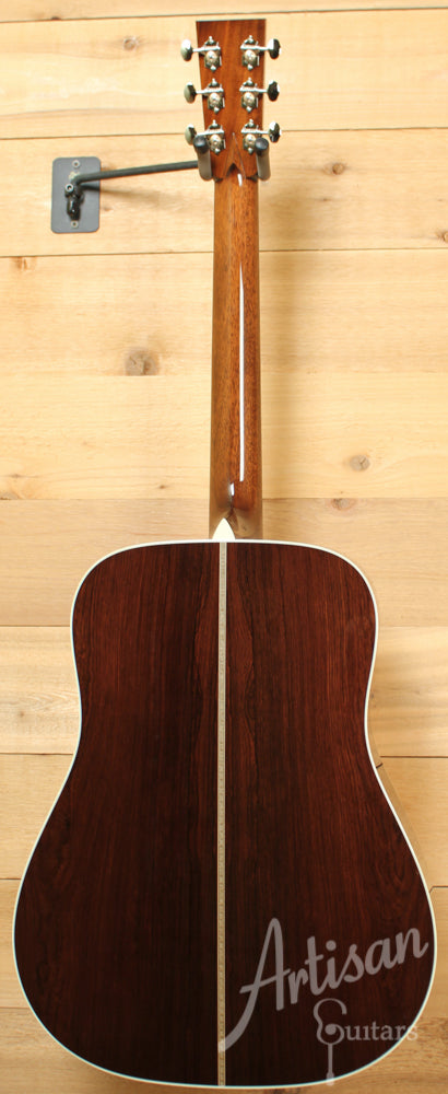 Collings D2H MR A Adirondack Spruce and Madagascar Rosewood with Adirondack Braces ID-9137 - Artisan Guitars
