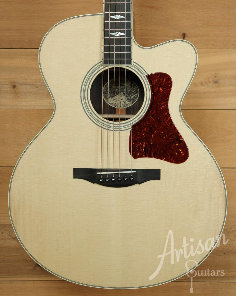 Collings SJ Cutaway with German Spruce and Indian Rosewood ID-9846 - Artisan Guitars