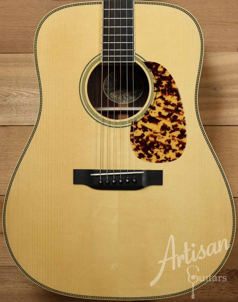 Collings CW Guitar Varnish with Adirondack Spruce top and Indian Rosewood back and sides ID-8811