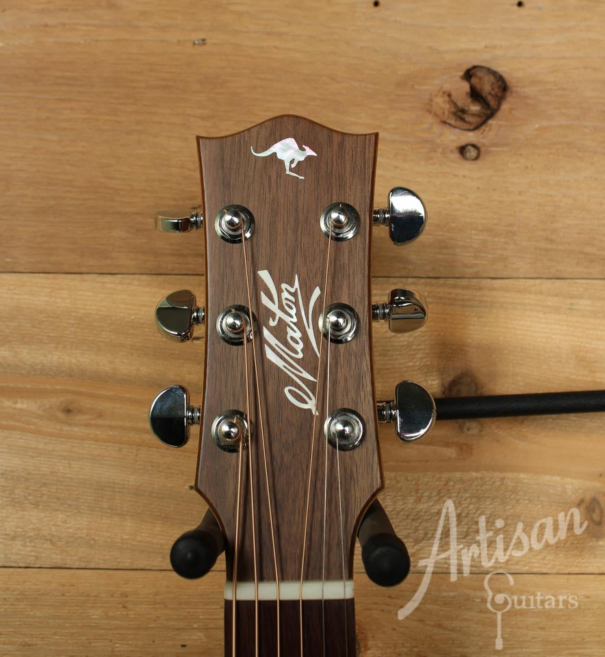 Maton EBG808TE Tommy Emmanuel Signature Sitka and Queensland Maple with AP5-Pro pickup ID-9947