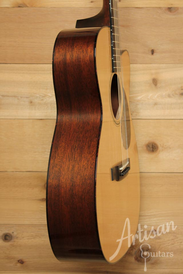Pre-Owned 2007 Collings OM1 A Adirondack and Mahogany with Cutaway ID-9987