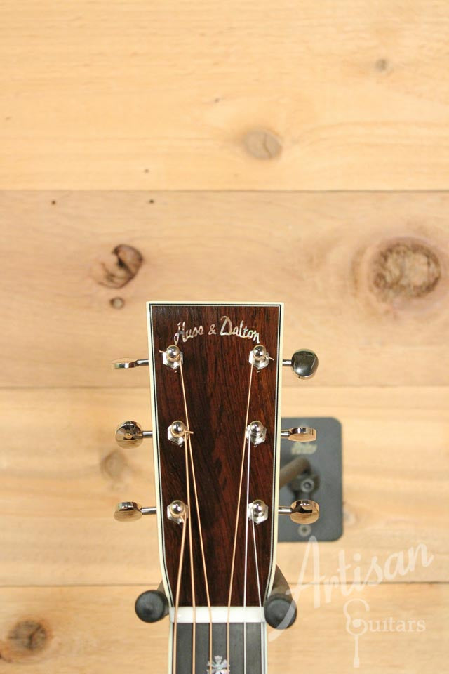 Huss and Dalton TOM-R Thermo-cured Red Spruce and Brazilian Rosewood  ID-10032 - Artisan Guitars