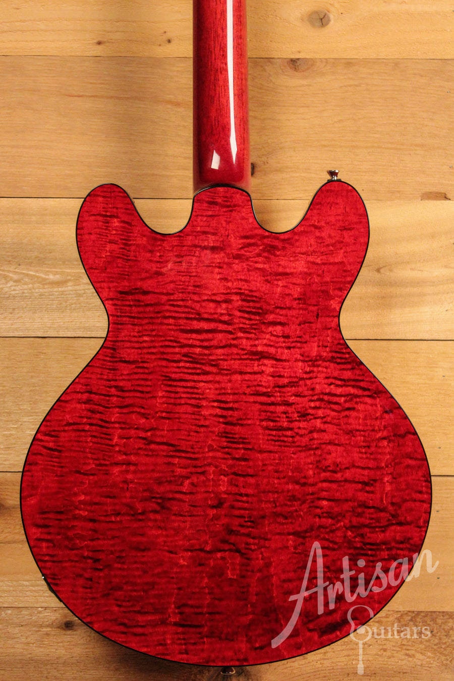 Collings I 35 LC Dark Cherry Finish with Lollar P90's ID-11375 - Artisan Guitars
