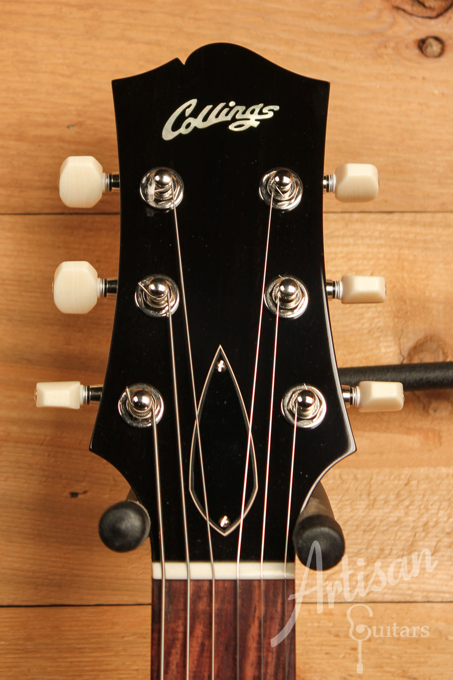 Collings I 35 LC Dark Cherry Finish with Lollar P90's ID-11375