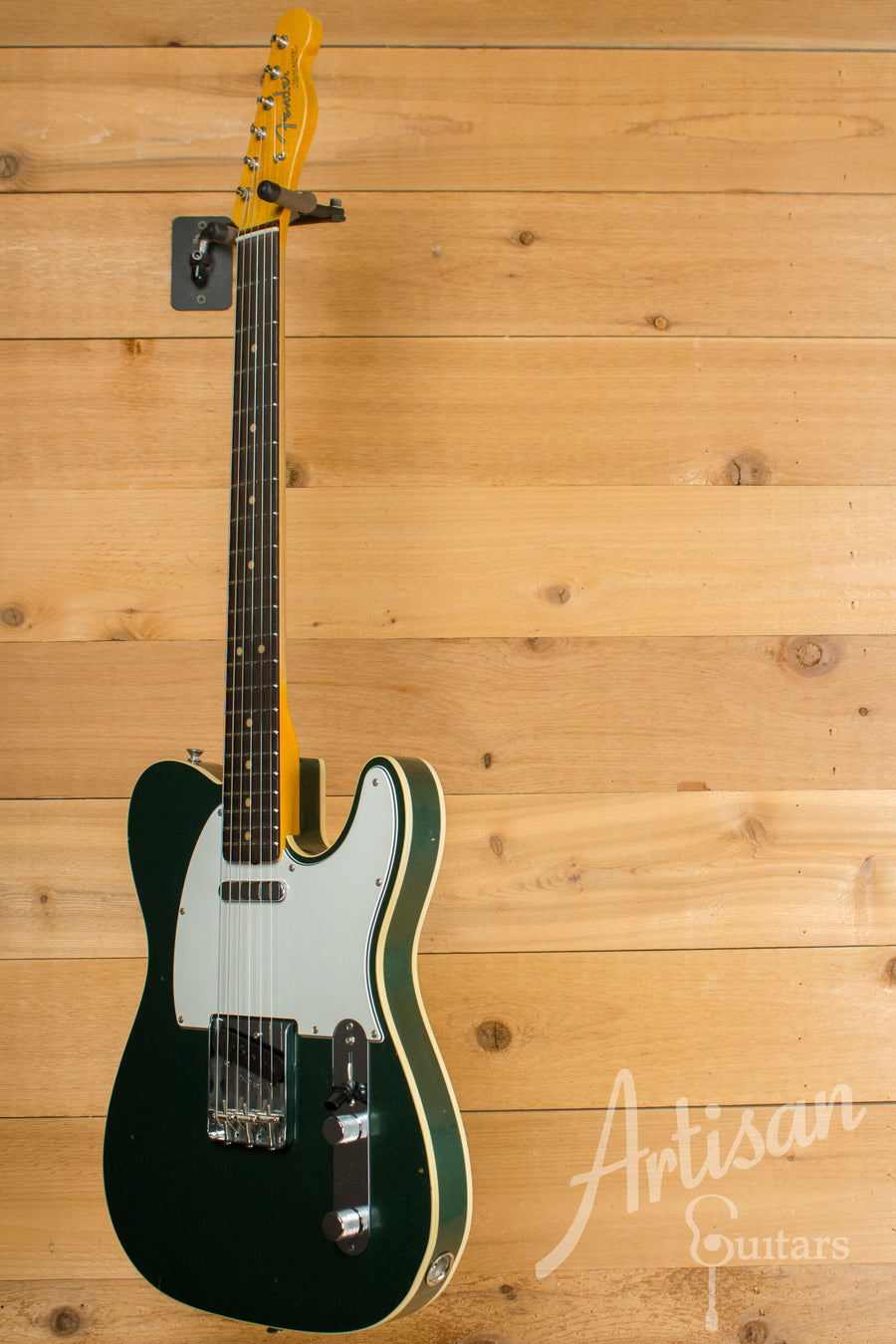 Fender Custom Shop 1963 Journeyman Relic Telecaster Sherwood Green Finish Pre-Owned 2017 ID-11674