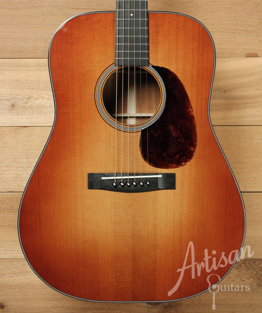 Huss and Dalton TD M Guitar with Thermo-cured Red Spruce and Sinker Mahogany ID-9544