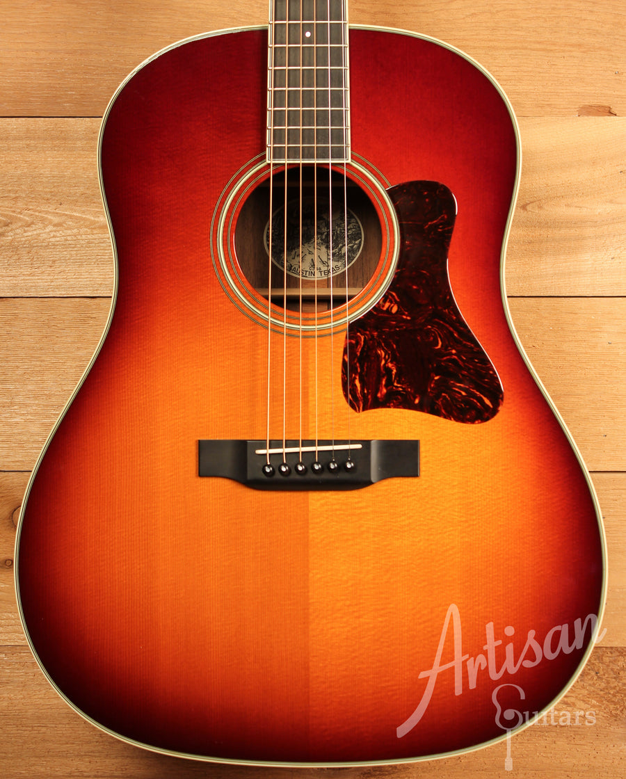 Collings Custom CJ SB Sitka Spruce and Indian in Sunburst Finish Pre-Owned 2010 ID-11431