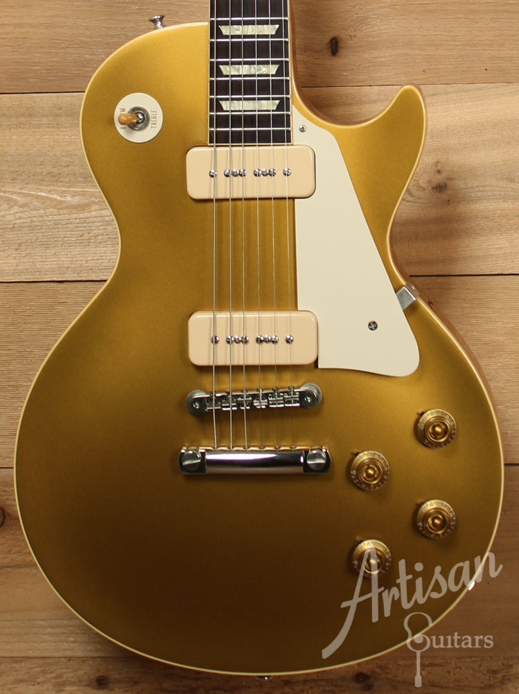 2004 Gibson Custom Shop Les Paul Goldtop 56 Reissue ID-9265 - Artisan Guitars