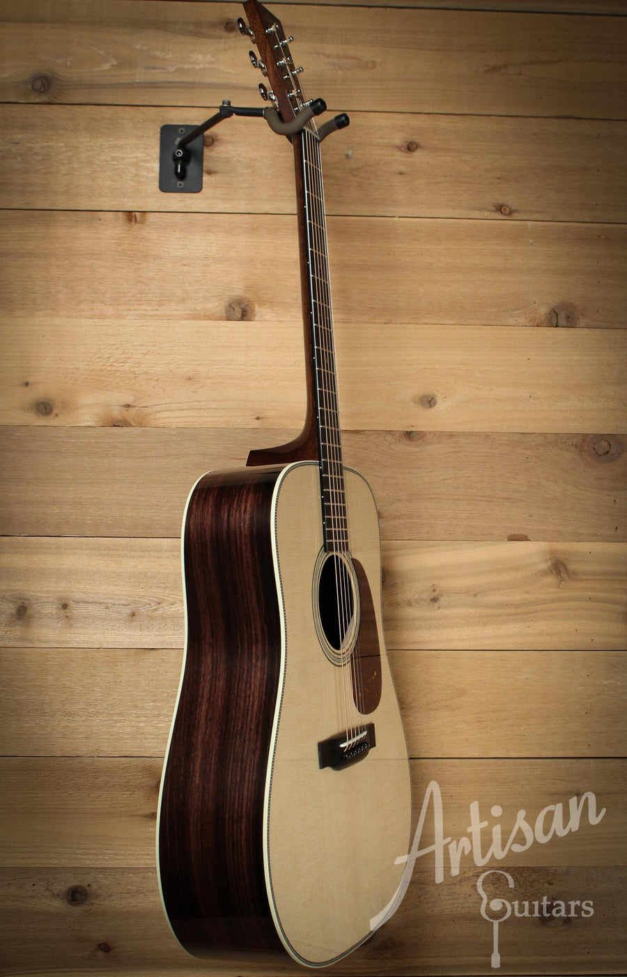 Collings D2H Herringbone Sitka Spruce and Indian Rosewood ID-10057 - Artisan Guitars