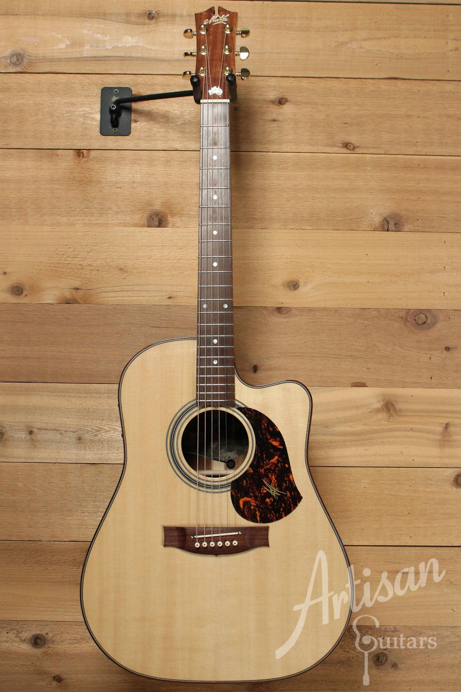 Maton EA 80C Australian Series Guitar with Sitka Spruce and Victorian Blackwood  ID-9955