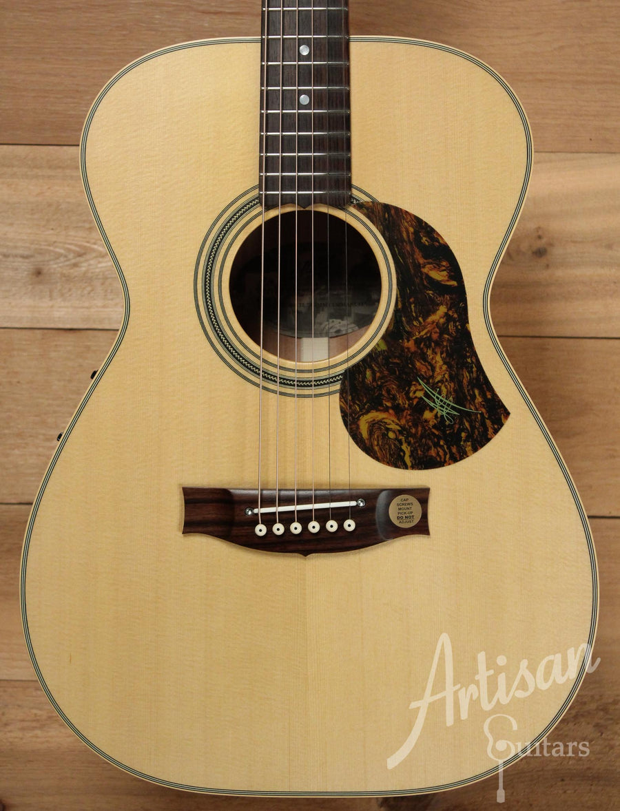 Maton EBG808TE Tommy Emmanuel Signature Sitka and Queensland Maple with AP5-Pro pickup  ID-10013 - Artisan Guitars