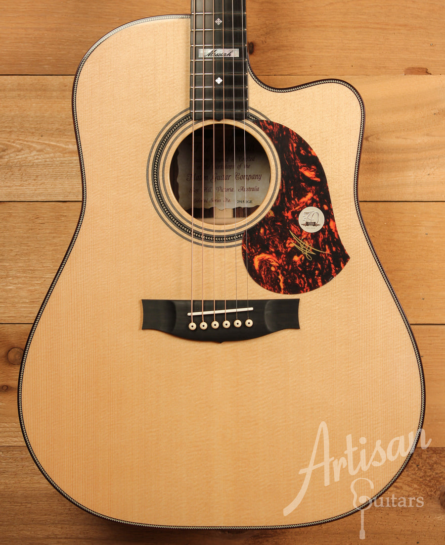 Maton EM100C Messiah Guitar Sitka Spruce and Indian Rosewood ID-11447 - Artisan Guitars