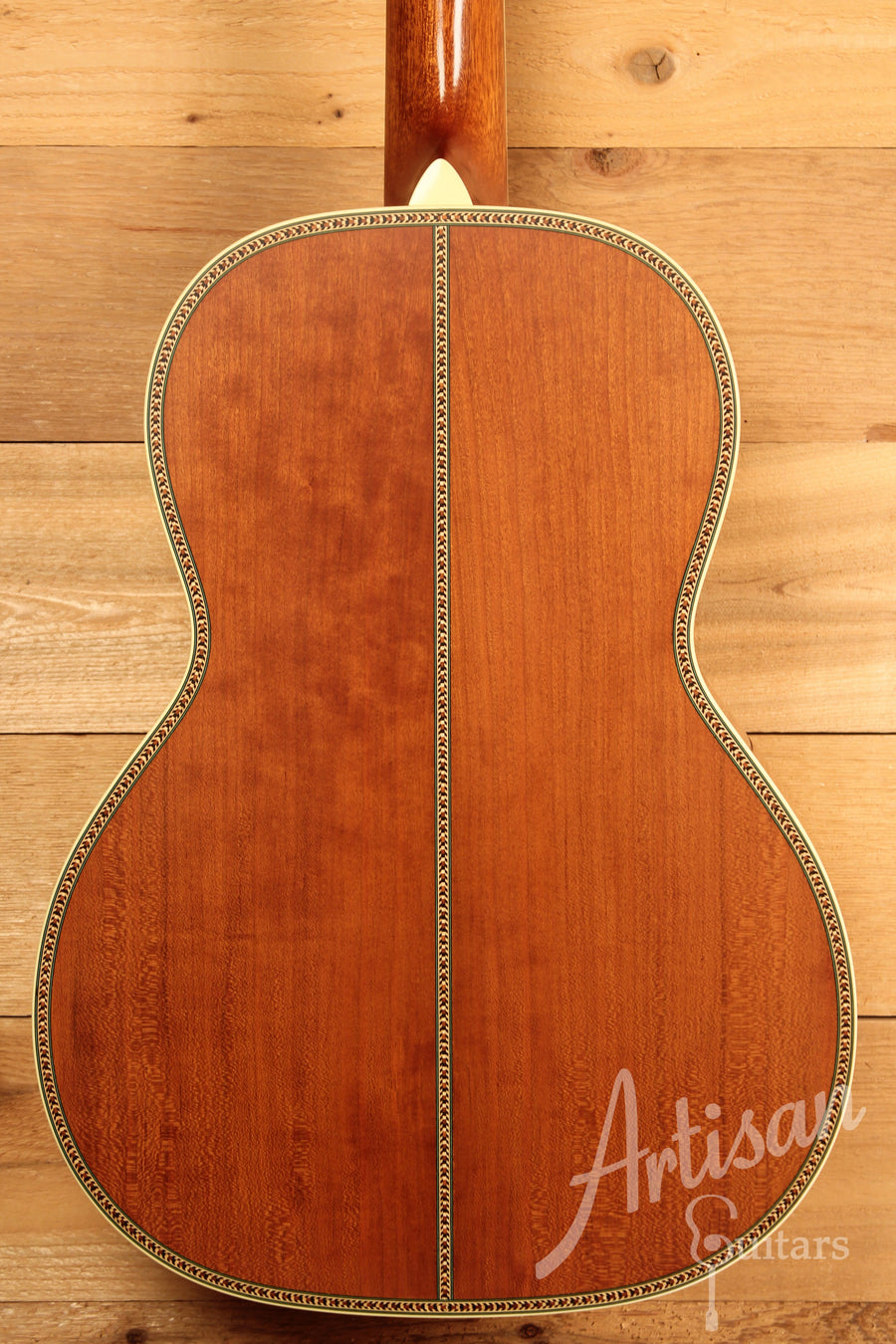 Waterloo WL-S DLX Ladder Braced Guitar Solid Spruce and Cherry ID-11457 - Artisan Guitars