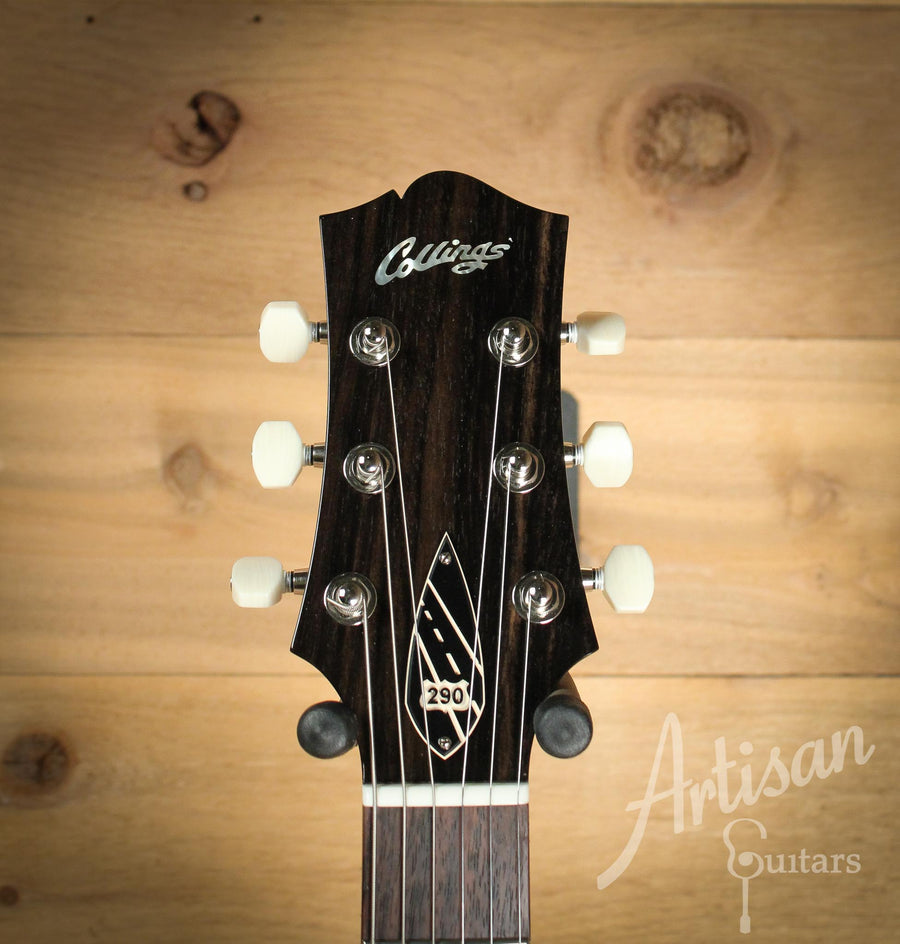 Collings 290 Guitar Tobacco Sun Burst with Lollar Gold Foil Pickups and Wraparound Bridge ID-10086 - Artisan Guitars