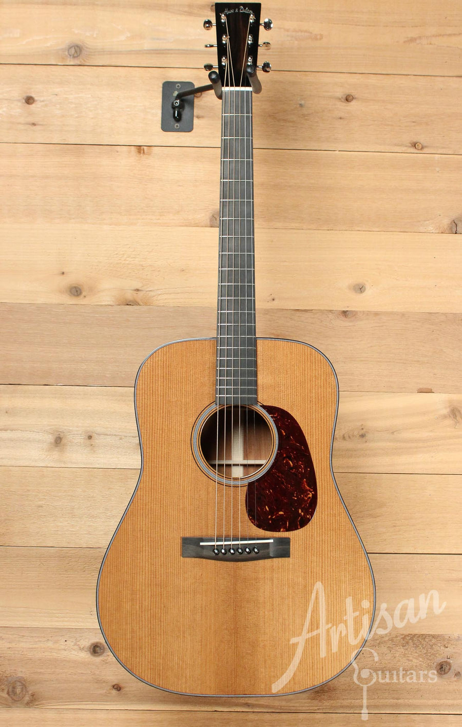 Huss and Dalton TD-M Custom with Thermo-cured Red Spruce and Sinker Mahogany ID-9780