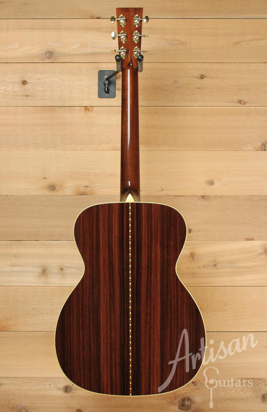 Collings OM3 G Custom Guitar Pre-Owned 2014 German Spruce and East Indian Rosewood Varnish Finish Short Scale ID-10099 - Artisan Guitars