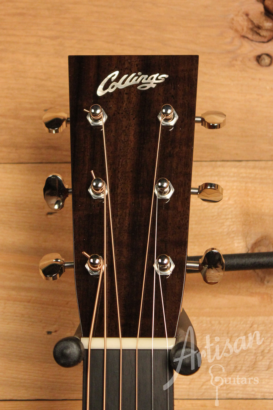 Collings Custom OM2 SR Sitka Spruce and Sacha Rosewood Pre-Owned 2014 ID-11466 - Artisan Guitars