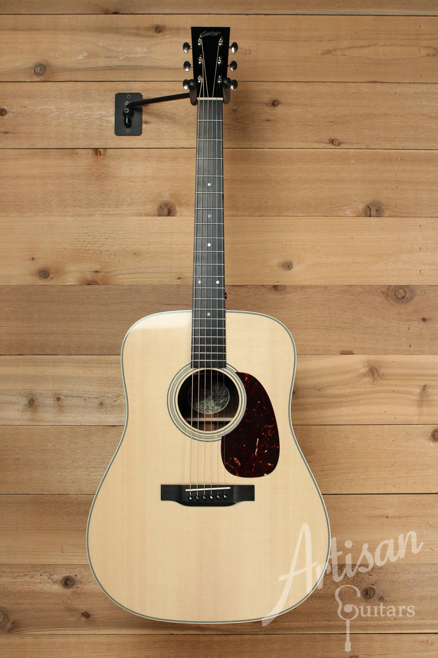 Pre-Owned 2013 Collings D2G German Spruce and Wenge back and sides with Long Dot Inlays ID-10106