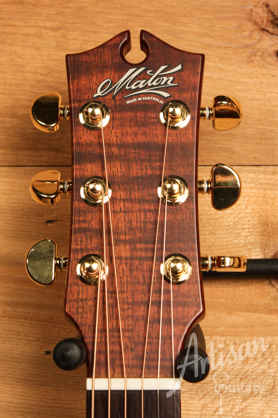 Maton EBG808 Nashville Series Sitka Spruce and Blackwood with Vintage Amber Sunburst Finish ID-11475 - Artisan Guitars