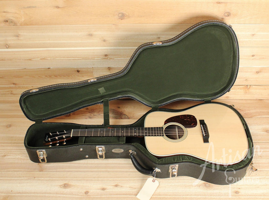 Pre-Owned 2013 Collings D2G German Spruce and Wenge back and sides with Long Dot Inlays ID-10106 - Artisan Guitars