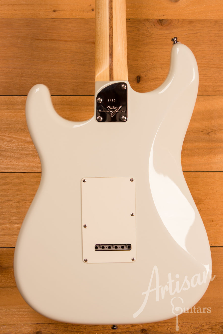 Fender Custom Shop Jeff Beck Stratocaster Olympic White Finish Pre-Owned 2012 ID-11248 - Artisan Guitars