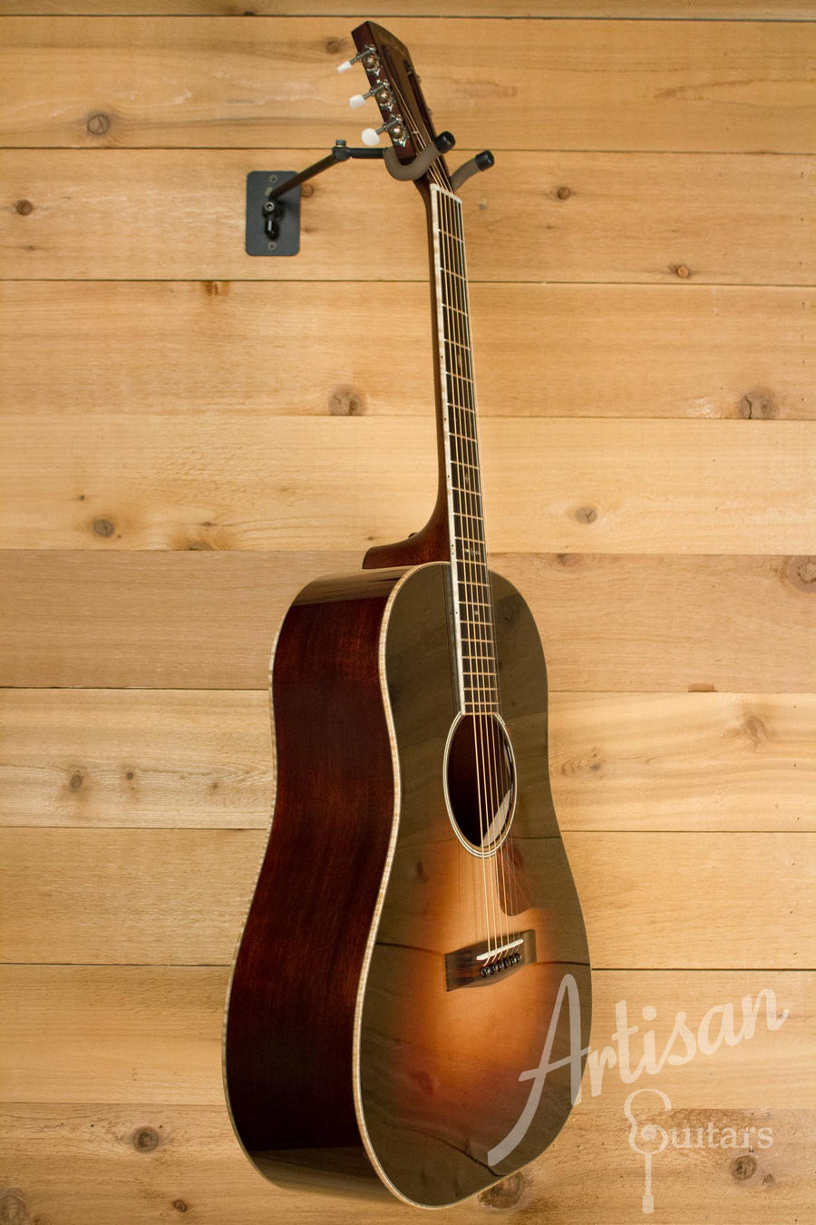 Pre-Owned 2013 Huss and Dalton DS-12 Custom Italian Spruce and Sinker Mahogany ID-10145