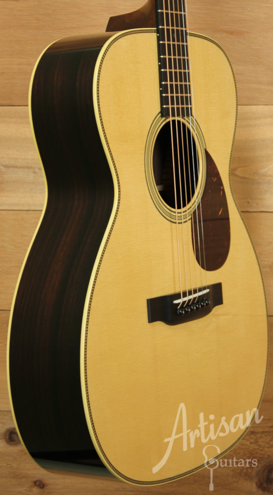 Collings OM2H Guitar G Varnish German Spruce and Indian Rosewood ID-8838 - Artisan Guitars