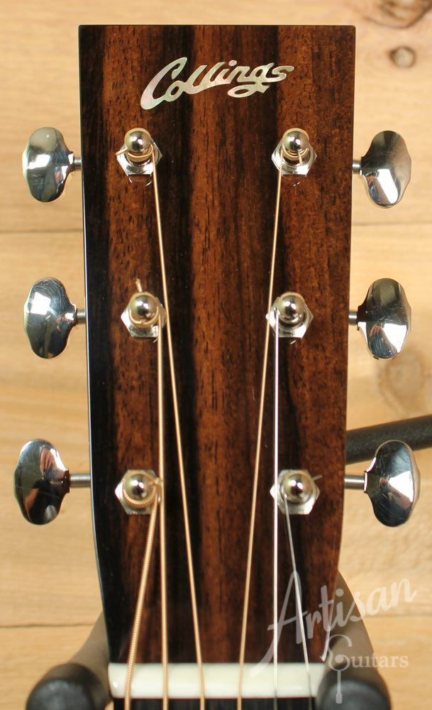 Collings OM2H G German Spruce and Indian Rosewood Deep Body with Adirondack Braces ID-8837