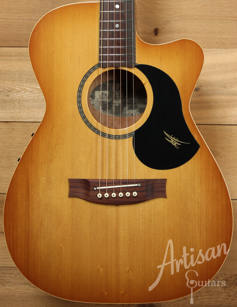 Maton EBG808CLG Performer Series Bunya and Queensland Maple with Cutaway and Vintage Amber Sunburst ID-9297 - Artisan Guitars