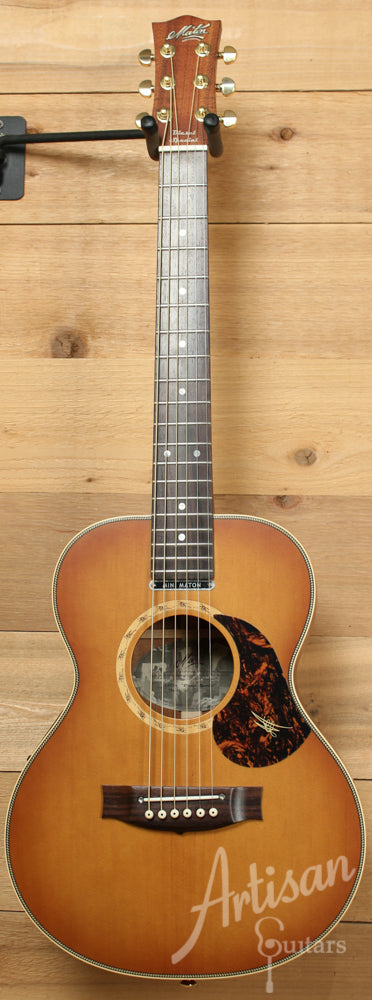 Maton EMD6 Mini Maton Diesel Sitka with Blackwood and Vintage Amber Sunburst ID-9298