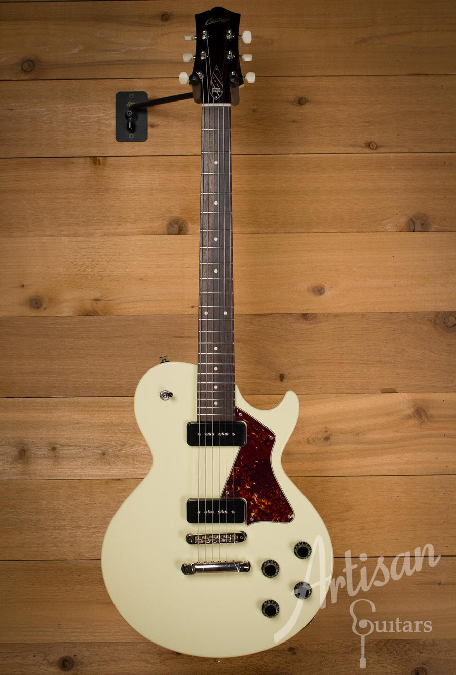Collings 290 Cream with Tortoise Pickguard Dual Lollar P90 Pickups  ID-10195 - Artisan Guitars