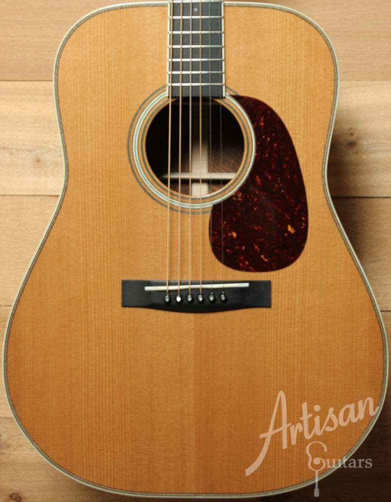 Huss and Dalton TDR Thermo Cured Appalachian Red Spruce and Brazilian Rosewood with Hot Hide Glue ID-8883