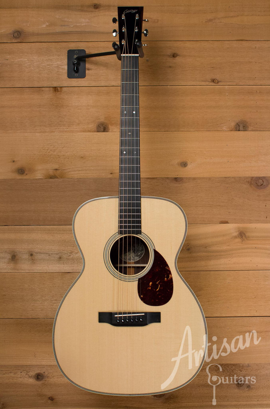 Pre-Owned 2013 Collings OM2H G German Spruce and Indian Rosewood Deep Body ID-7388 - Artisan Guitars